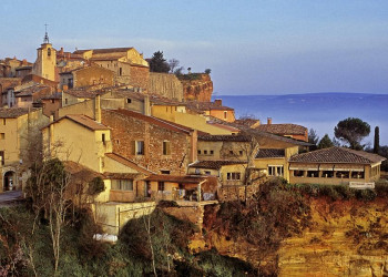 Frankreich, Provence-Alpes-Côte d¿Azur, Stadt Roussillon, Vaucluse