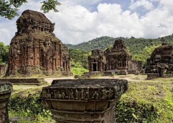 Die Tempel von My Son in Vietnam