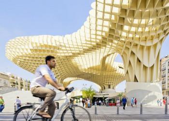 Der Metropol Parasol im Herzen von Sevilla