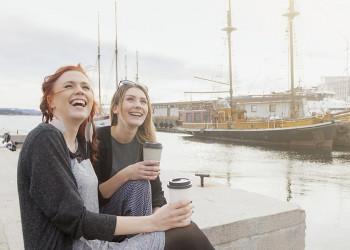 Citylife in Norwegens Hauptstadt Oslo