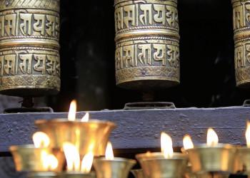 Lebendiger Buddhismus in denTempeln von Kathmandu