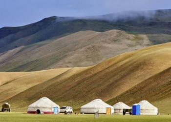 Wir wohnen gemütlich mongolisch: in der Jurte