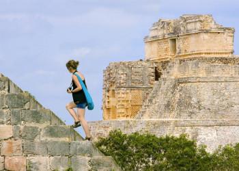 Hoch hinaus geht's auf Wunsch in Palenque