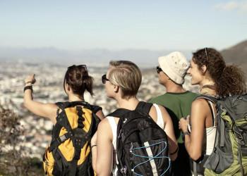 Unser Finale in Kapstadt - was für ein Panorama