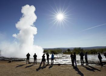 Geysir Strokkur auf Island