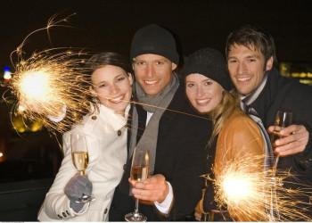 In Split gemeinsam auf das neue Jahr anstoßen