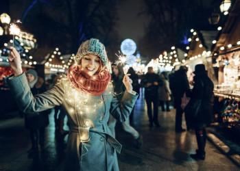 Gemeinsam die winterliche Stimmung in Ljubljana genießen