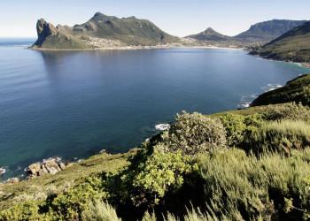 Die Hout-Bay bei Kapstadt