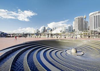 Der Darling Harbour in Sydney