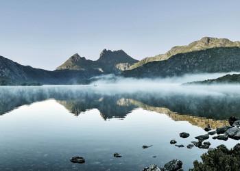 Im Cradle Mountain Nationalpark in Tasmanien