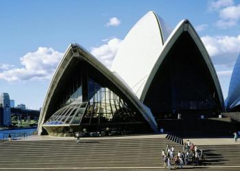 Das berühmte Opernhaus in Sydney