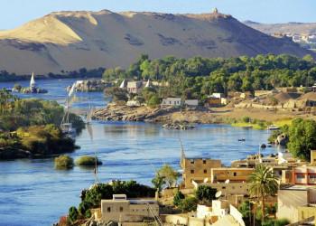 Der Nil südlich von Assuan