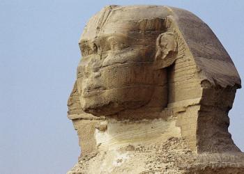 Viel fotografiert: der Kopf des Sphinx in Gizeh