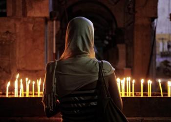 Besinnliche Stimmung in der Grabeskirche
