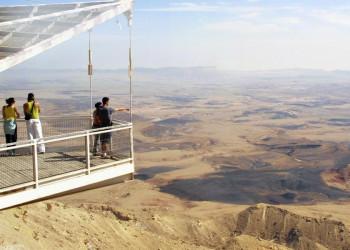 Panoramablick am Ramon-Krater