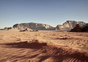 Wüstenfeeling pur im Wadi Ram