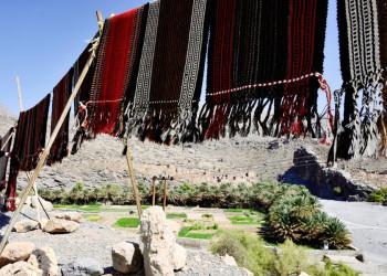 Oase am Fuß des Djebel Akhdar