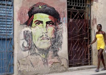 Che Guevara ist in Kubas Altstädten noch allgegenwärtig. Hasta la victoria siempre!