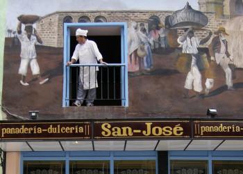 Bäckerei in der Altstadt von Havanna