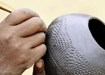 Traditionelles Handwerk in Südafrika