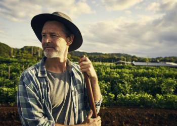 Farmer in Australien
