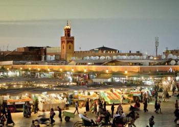 Nachtmarkt Marrakesch