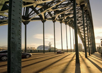 Brücke über den Tyne in Newcastle.