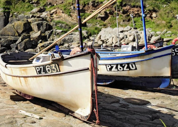 Fischerboote in Cornwall