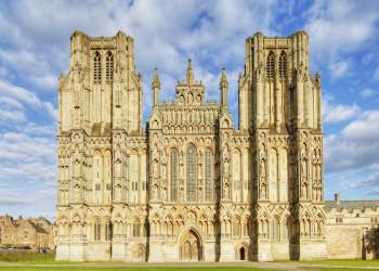 Die Kathedrale von Wells