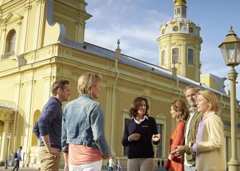 Im Zentrum von St. Petersburg