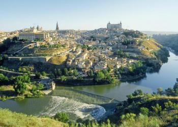 Blick auf die Stadt Toledo