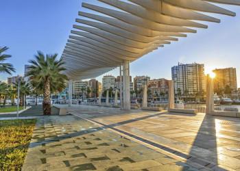 Hafenpromenade von Málaga
