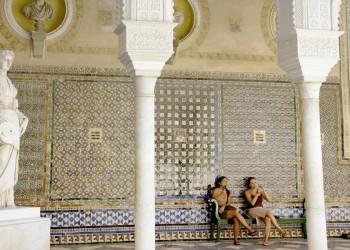 Andalusische Wandkacheln in Sevilla
