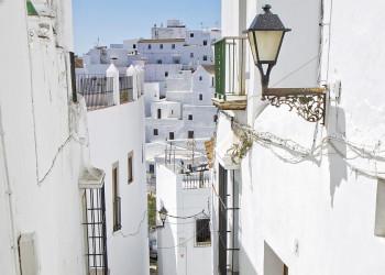 Das weiße Dorf Vejer de la Frontera