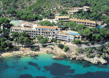 Das Hotel Cala Fornells in Peguera