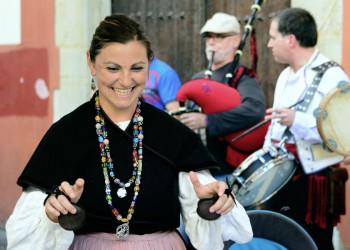 Eine tradionelle Musikgruppe