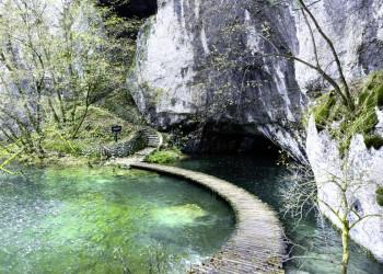 Die Plitwitzer Seen in Kroatien