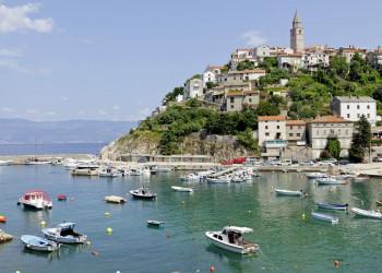 Hafenstadt an der kroatischen Küste