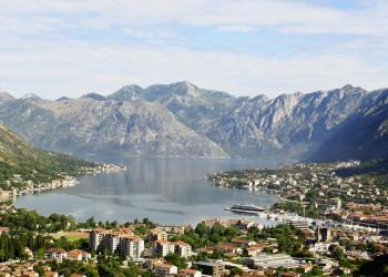Die spektakuläre Bucht von Kotor in Montenegro