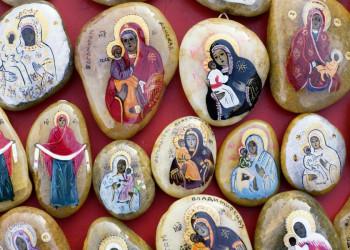 Orthodoxe Ikonenbilder in Montenegro