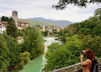 Cividale del Friuli am Fluss Natisone
