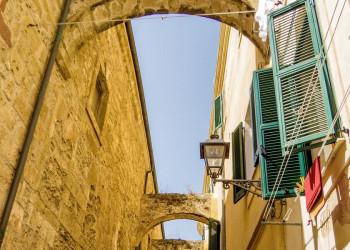 Altstadtgasse in Alghero