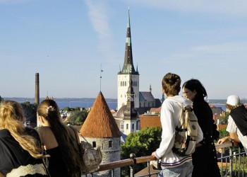 Aussicht auf Tallinn
