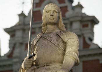 Statue des Heiligen Roland in Riga