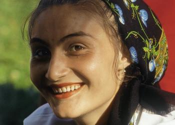 Portrait einer Rumänin