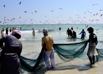 Fischer im Süden des Oman