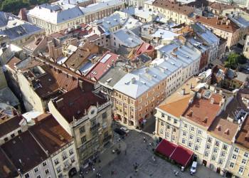 Über den Dächern von Lemberg