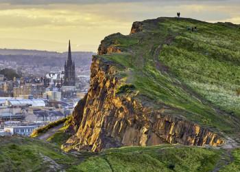 Grüne Perspektiven in Edinburgh