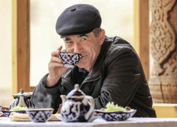 Teetrinker, Usbekistan