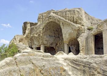 Die Höhlenstadt Uplisziche in Georgien